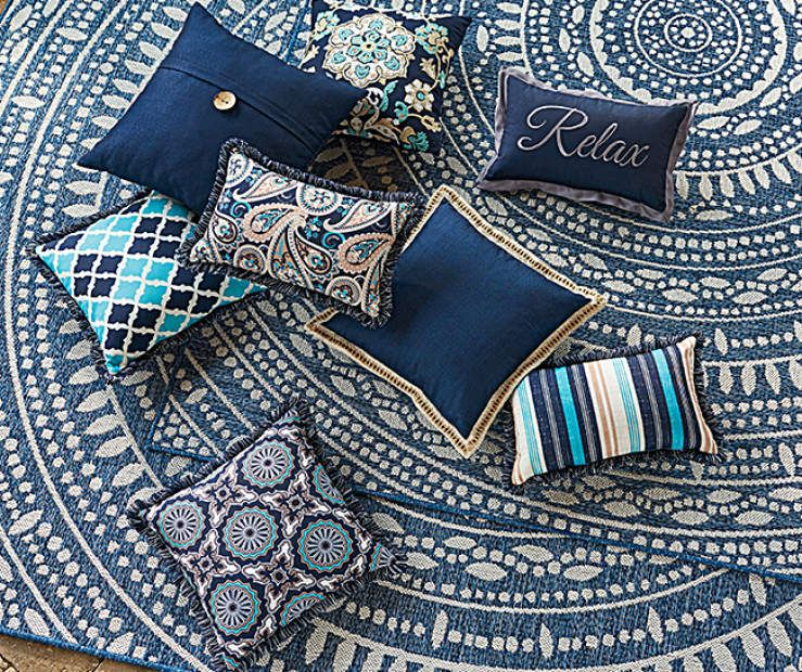 Lakewood Outdoor Throw Pillows Collection At Lots