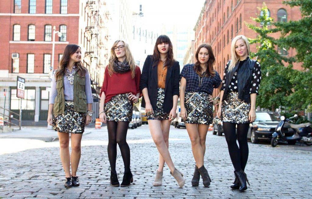 One skirt, Five ways