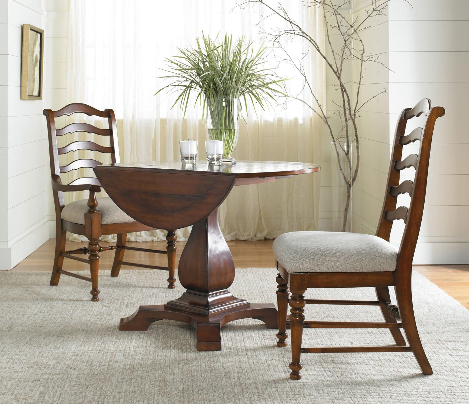 Wonderful Waverly Place Round Drop Leaf Pedestal Dining Table By Hooker Furniture    Home Gallery Stores