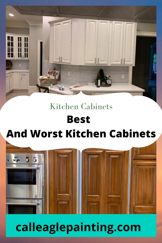 Best And Worst Kitchen Cabinets In 2020 Kitchen Cabinets Cabinet Cheap Kitchen Cabinets