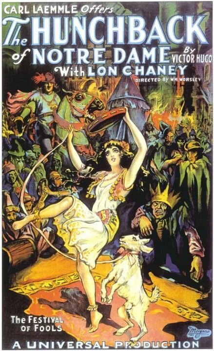The Hunchback of Notre Dame 11X17 Universal Movie Poster