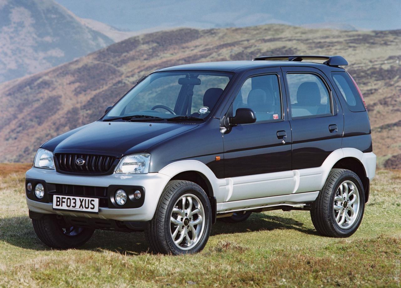 Katalog 2003 Daihatsu Terios Sport Daihatsu Mobil Baru Mobil