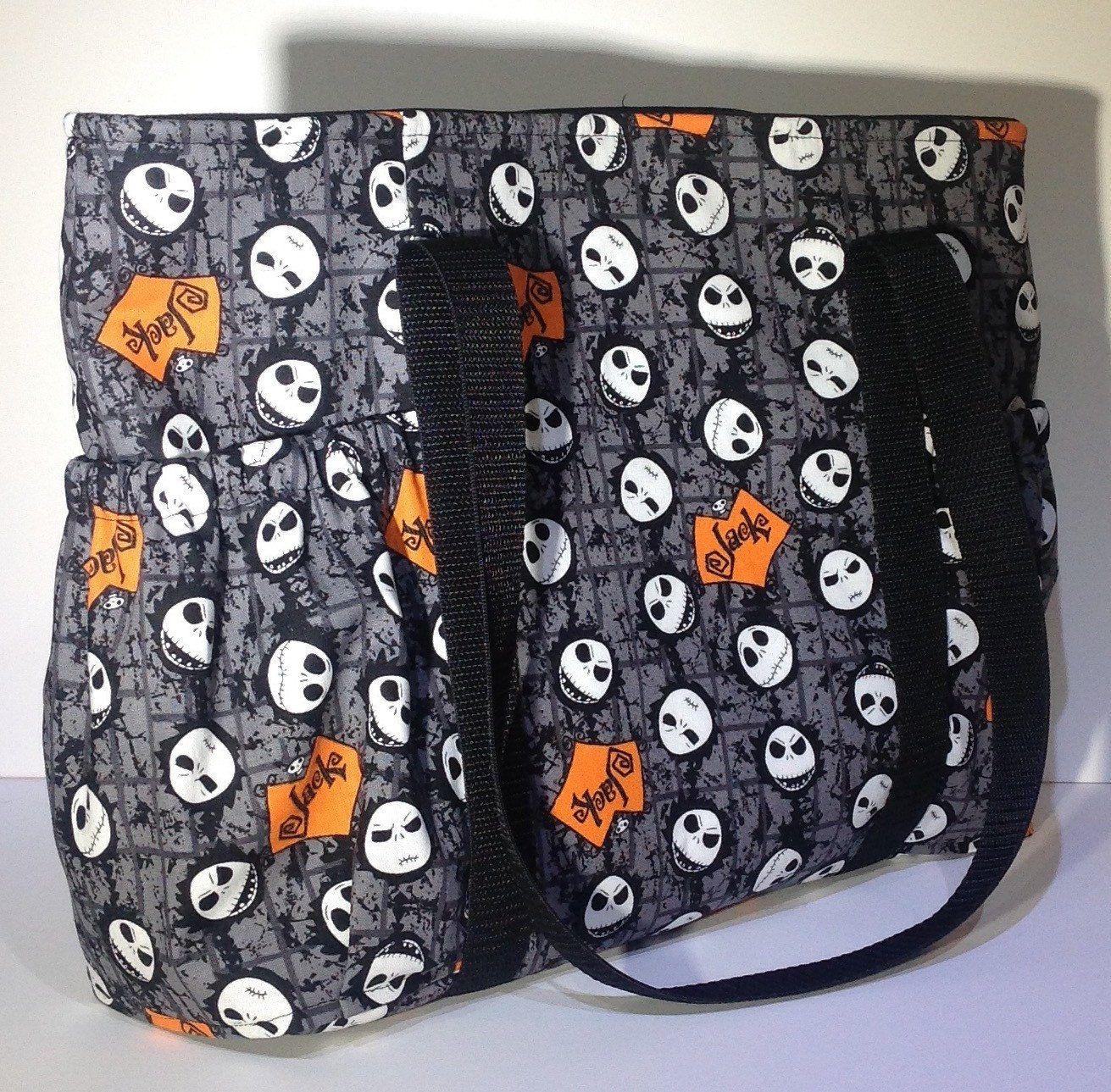 Jack Skellington purse, Nightmare Before Christmas tote, Jack and ...