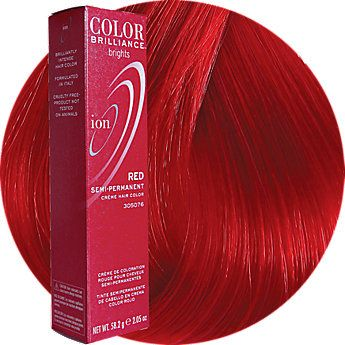Red Semi Permanent Hair Color In 2020 Red Hair Color Hair Color