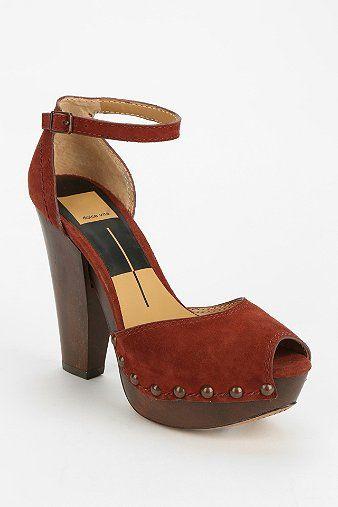 Dolce Vita Huxley Peep-Toe Platform Sandal - Urban Outfitters -- COME TO MAMA!