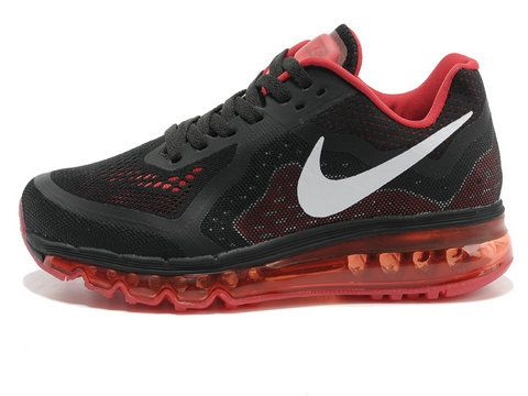 Nike Air Max 2014 Black Red Silver
