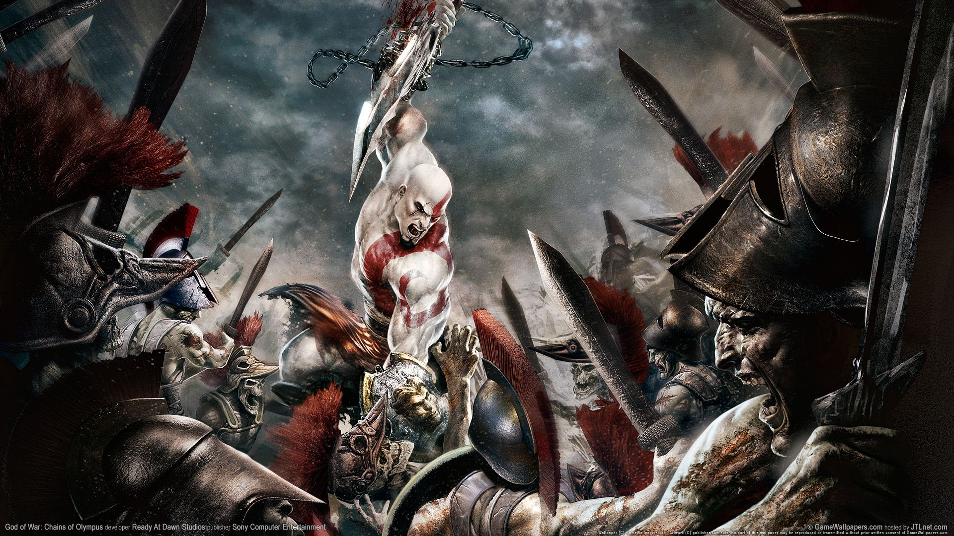 hd god of war 2 new game wallpaper for download – 17542 | papel de