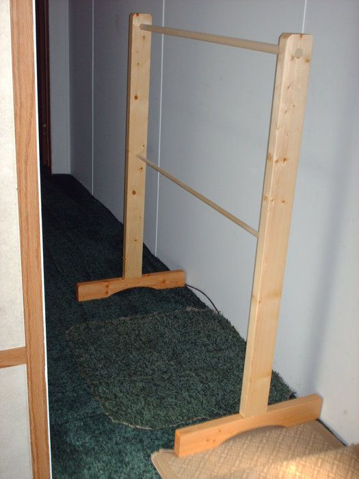 Plans for garment rack google search diy pinterest for How to make a wood rack