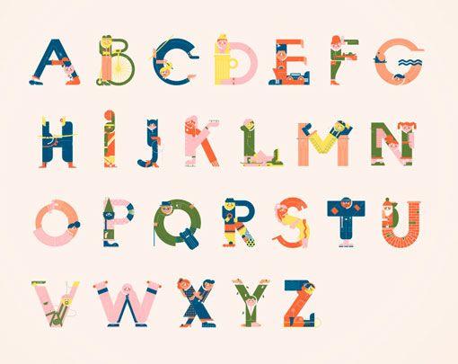 Vesa Sammalisto Alphabet Prints