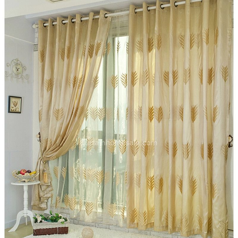 Bed Bth And Beyond Leaf Blackout Curtains
