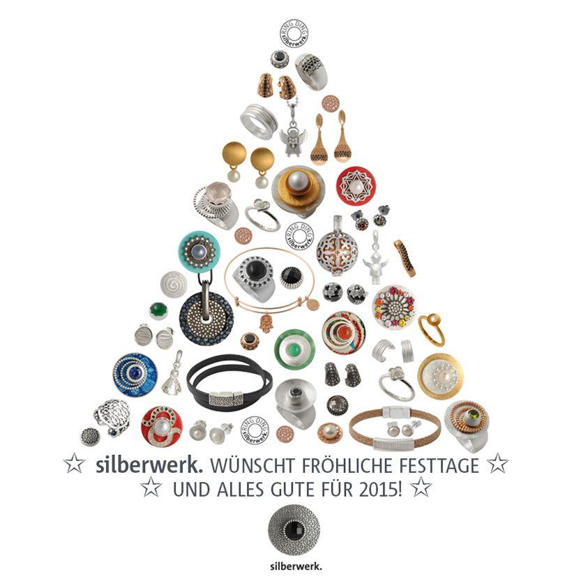 Fröhliche Weihnachtsgrüße von den silberwerker/innen.   https://www.silberwerk.de/