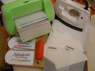 Wax paper embossing