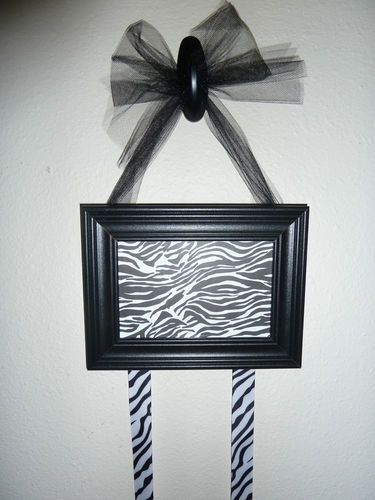 Picture Frame Cheer Bow Holder, Organizer, Decoration, Wall\\u2026 ...