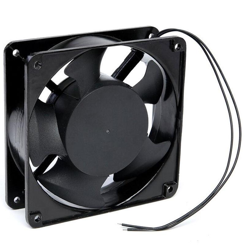 8 35 Mini 12012038mm 220v Dc Motor Cooling Fan Computer Case