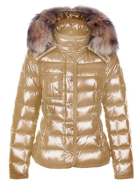 Moncler chaquetas para  oro