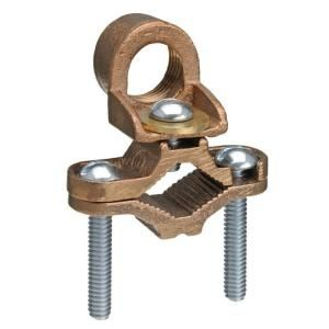 1 2 1 In Type Jh Bronze Ground Rod Clamp For 8 To 4 Awg Wire Jh B1 10 Water Pipes Bronze Clamp