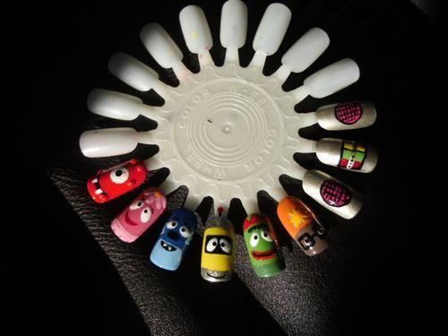 Nails, Yo Gabba Gabba, Fingernails