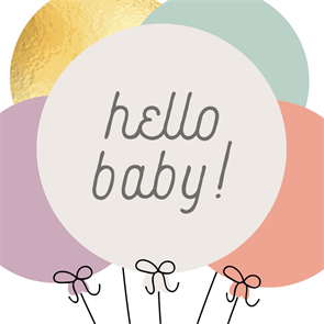 Baby Balloons Congratulations Card Free Greetings Island Printable Baby Shower Cards Baby Congratulations Card Baby Shower Invitations Diy