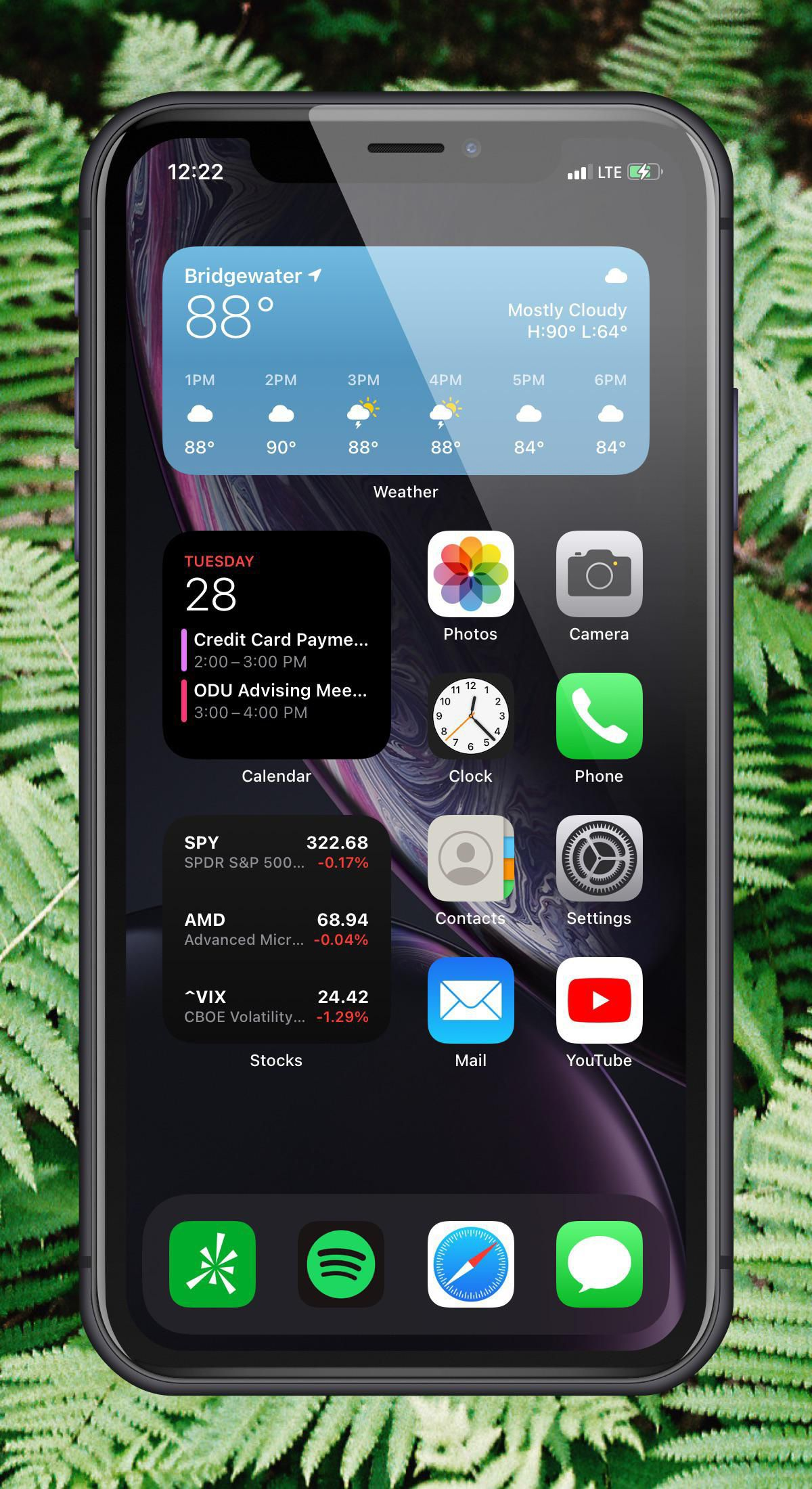 Super Minimalist One Page Setup With Ios Pb 14 3 Iphone Organization Homescreen Iphone Iphone App Layout