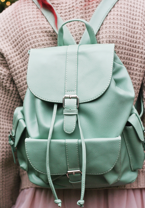 I'm that weirdo who carries/wears a backpack purse because it's ...