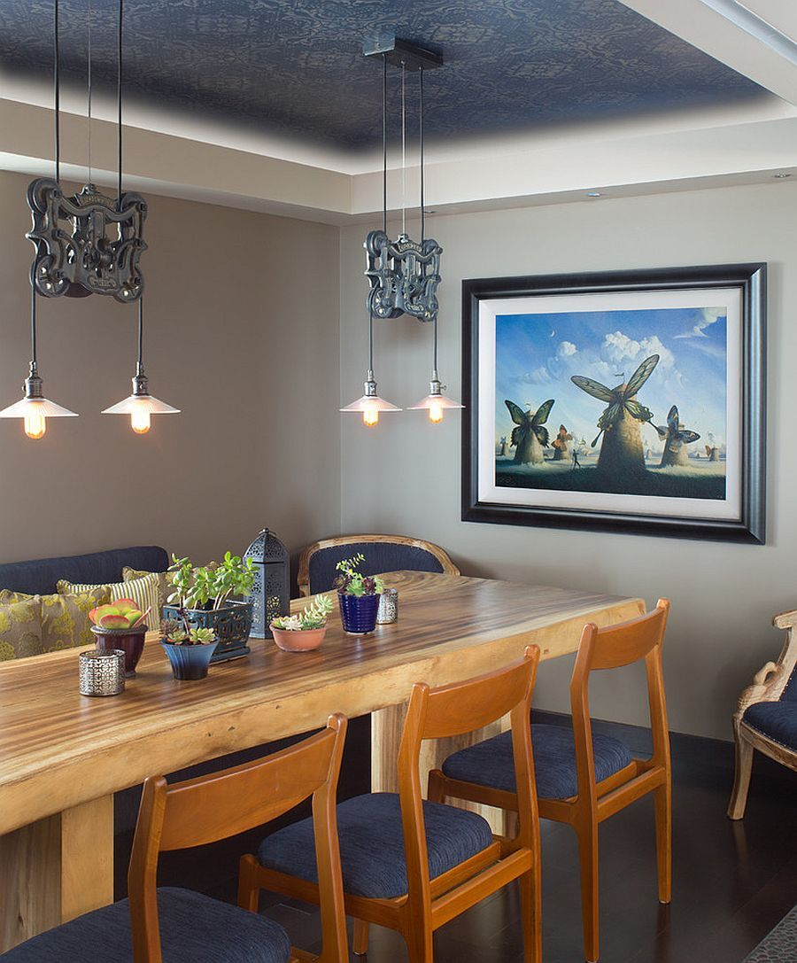 Serene And Practical: 40 Asian Style Dining Rooms