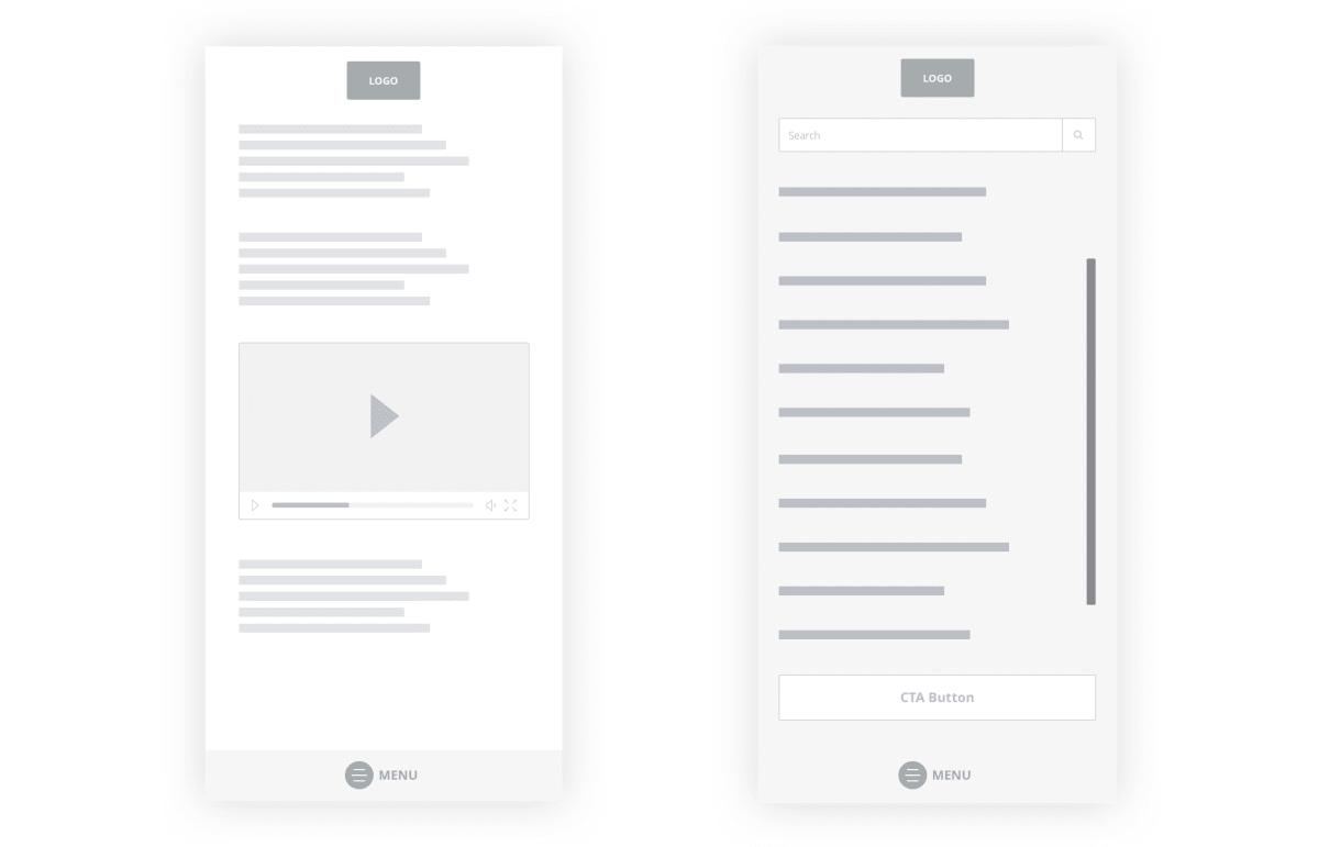 Bottom Navigation Pattern On Mobile Web Pages A Better Alternative Smashing Magazine