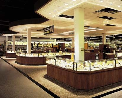 Service merchandise jewelry counter my first big jewelry for Big box jewelry stores