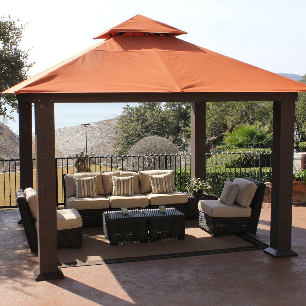 Charming STC 12 X 12 Ft. Seville Gazebo