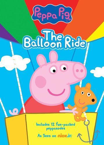 Peppa Pig The Balloon Ride Dvd