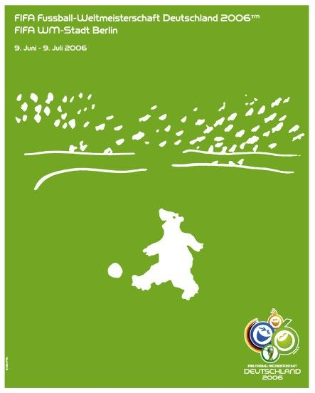 Poster Fifa World Cup 2006 Host City Berlin World Cup Logo World Cup Soccer World