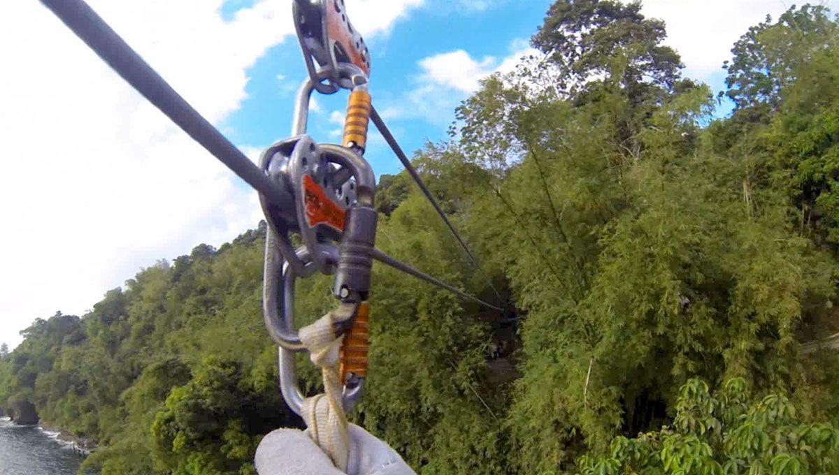 Zip Lining At Macqueripe Trinidad Trinidad Ziplining Photo