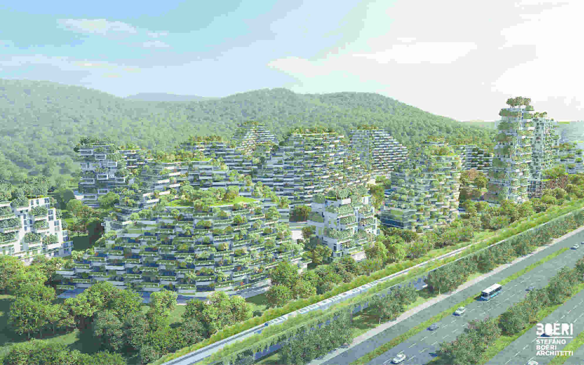 Photo 3 of 6 in A Green City in China That Will Play a