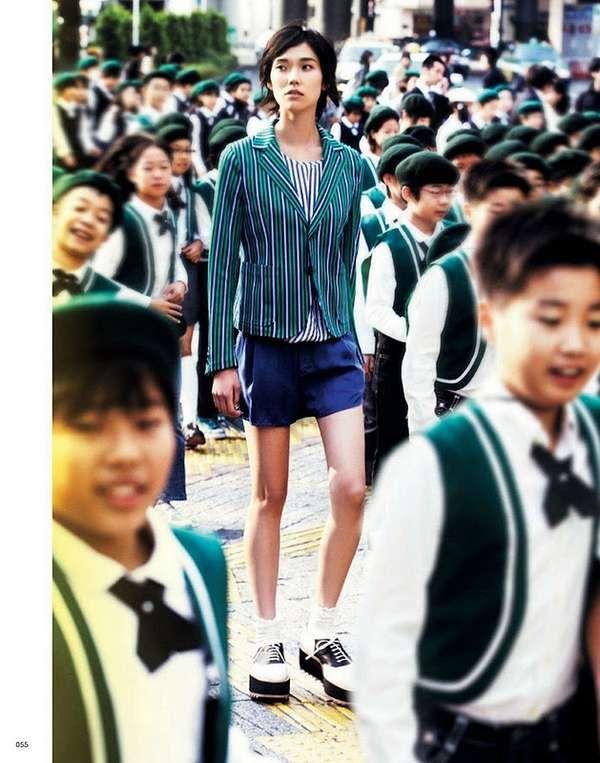 Tao Okamoto for Vogue Japan