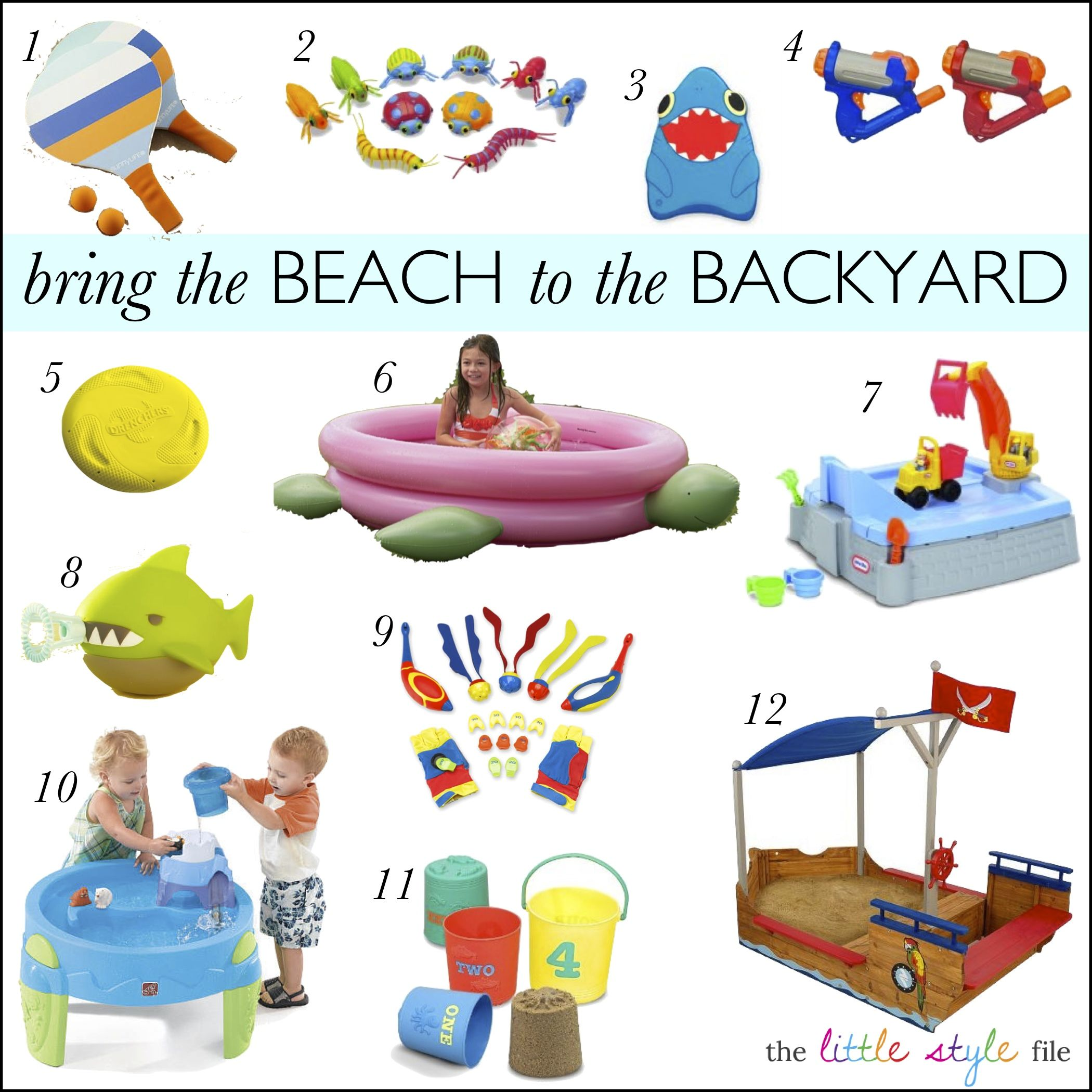 Bring The Beach To Your Backyard Kids Summerfun