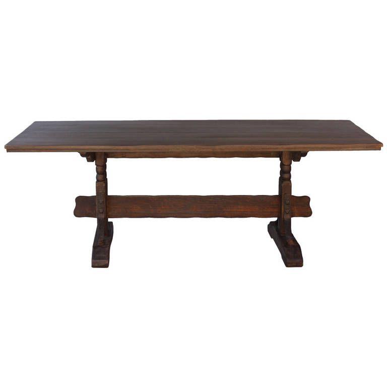 Monterey Trestle Table, 1930s