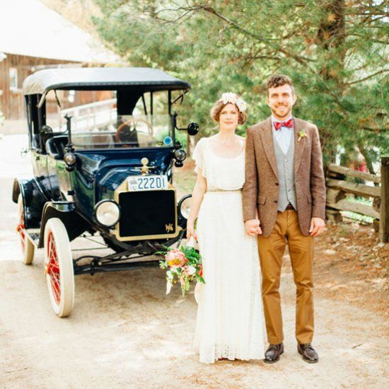 Loving this rustic California farm wedding at Riley's farm. The bride and groom are so cute!