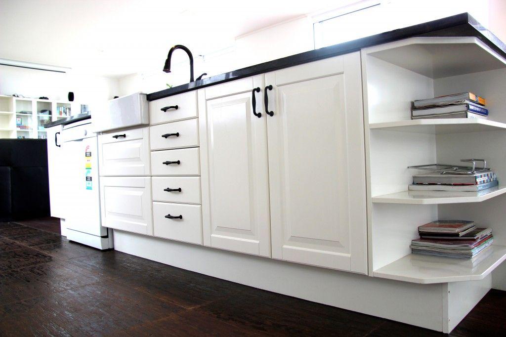 Our completed kitchen - Ikea Lidingo   Kitchen, Ikea ...