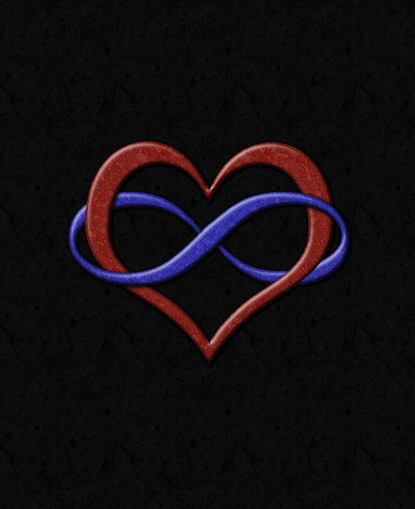 Infinity Symbol Tattoos Pinterest Infinity Heart Infinity