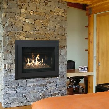 The Estate | PE | Zero Clearance Gas Fireplace Delivers A Stunning Fire  Display. This