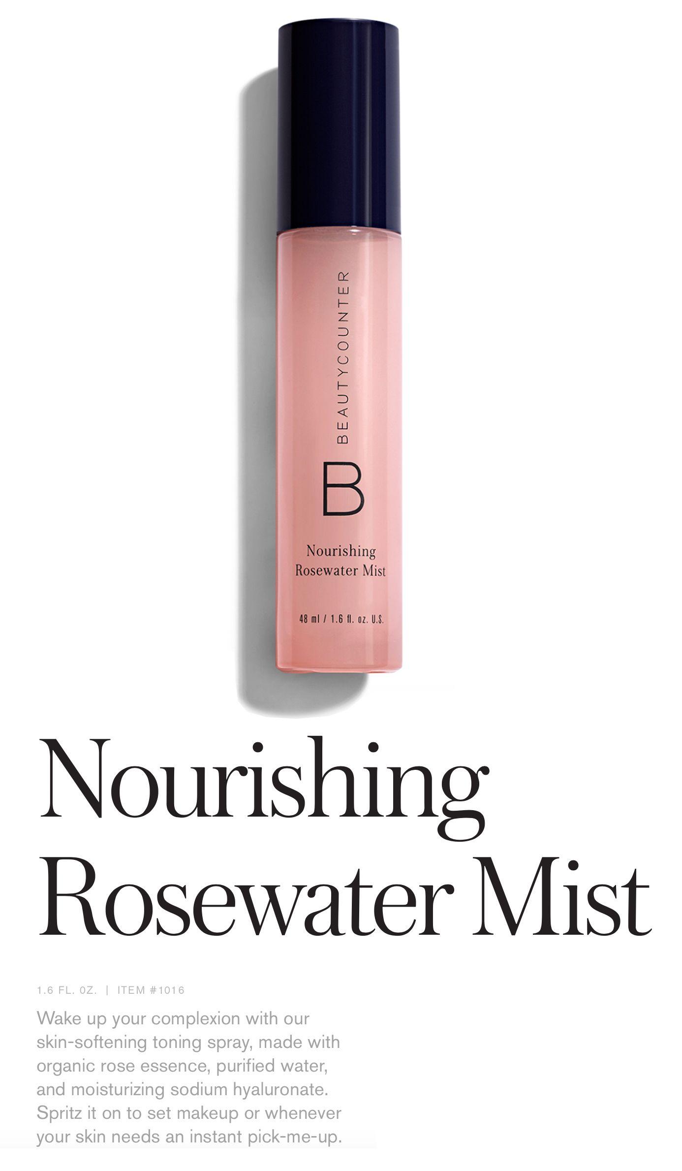 Nourishing Rosewater Mist Organic Roses Beauty Skin Care Organic Skin Care