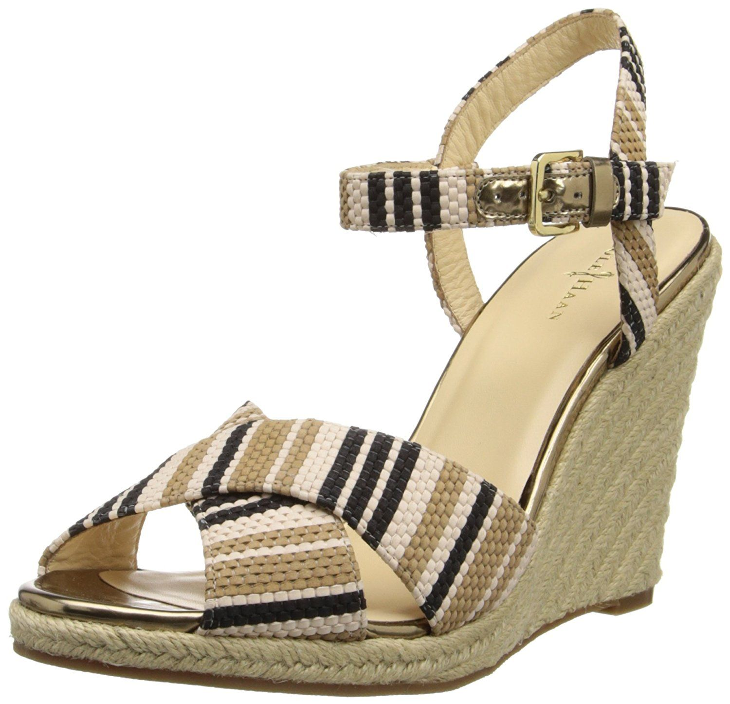 f46af65931d Cole Haan Women's Hart Wedge Sandal -- Be sure to check out this ...