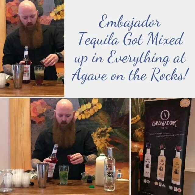 Embajador Tequila got mixed up in everything at Agave on the Rocks last night! #agaveontherocks #tequila #TequilaDrink . .  #tequila #tequilacocktail #tequilablanco #tequilatime #tequilatequila #tequilacocktails #TequilaDrink #tequilatasting #tequilalover