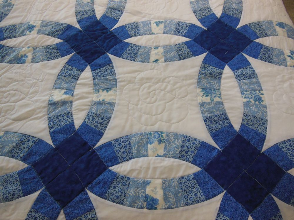 Bluebird Gardens Quilts And Gifts In 2020 Double Wedding Ring Quilt Wedding Rings Prices Wedding Ring Quilt