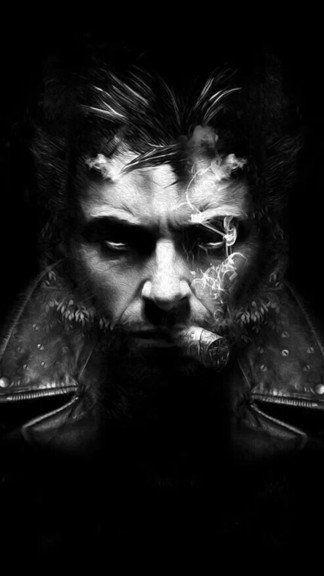 Image Result For Wolverine Hd Wallpaper For Iphone Resimler Portre Taslaklar