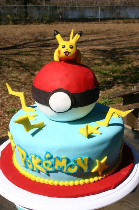 Pokemon Birthday Cakes For Boys Kids Birthday Cakes