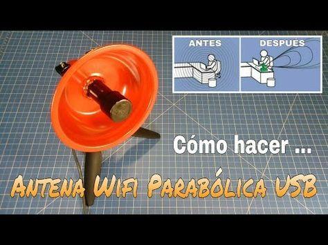Antena Casera Hd En 1 Minuto Youtube Con Imagenes Antena