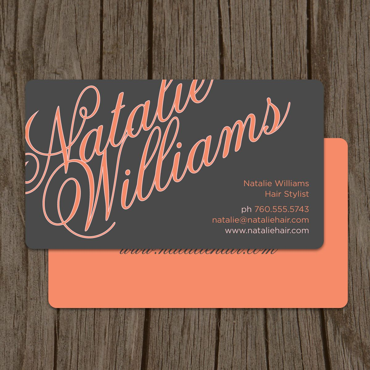 Elegant name modern hair stylist business card mommy card elegant name modern hair stylist business card mommy card calling card set of 100 4800 via etsy reheart Image collections
