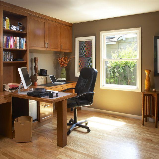 19 Dramatic Masculine Home Office Design Ideas: 19 Dramatic Masculine Home Office Design Ideas