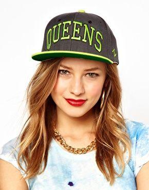 Image 1 ofZephyr Queens Snapback Cap