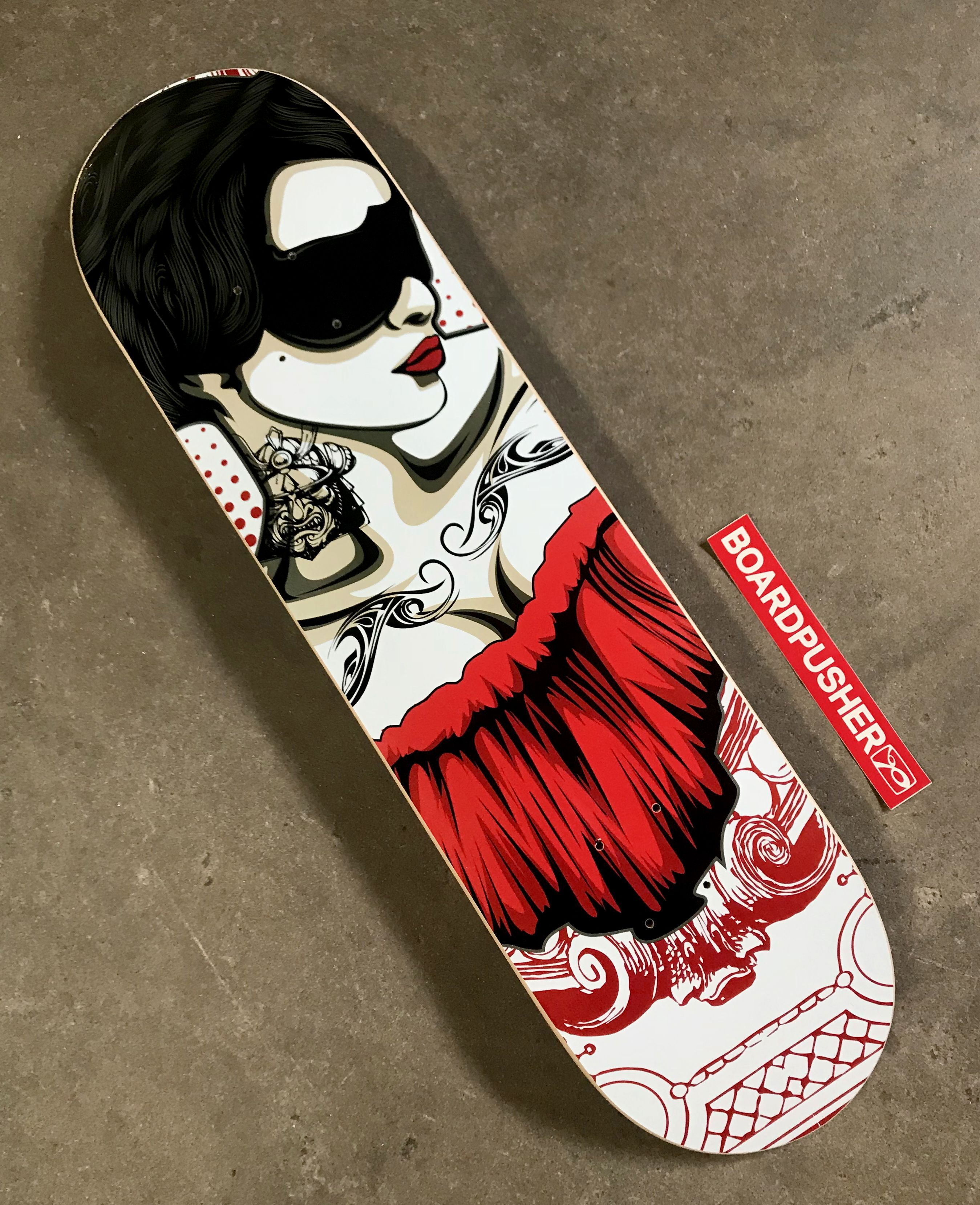 Click the image for more details about this custom skateboard